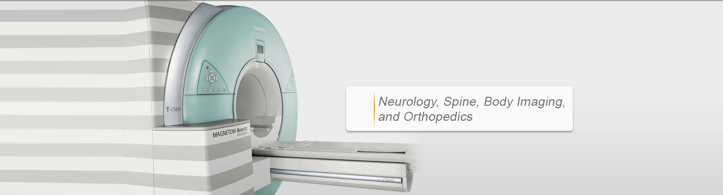 HCI- Neurology, Spine, Body Imaging, and Orthopedics